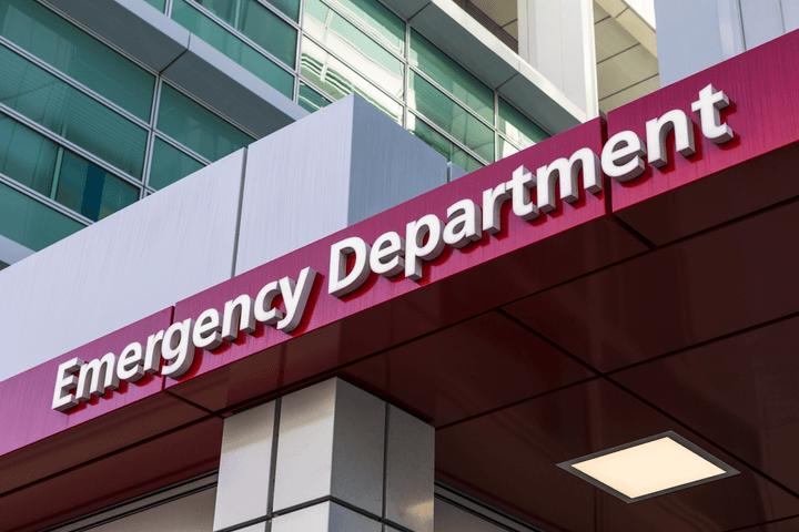 Ascension hospital emergency department entrance