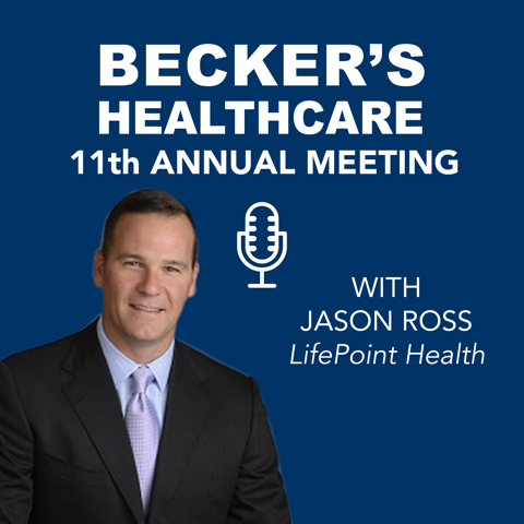 Hospital Financial Executive Jason Ross of LifePoint Health