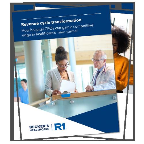 Revenue Cycle Priorities EBook from Beckers