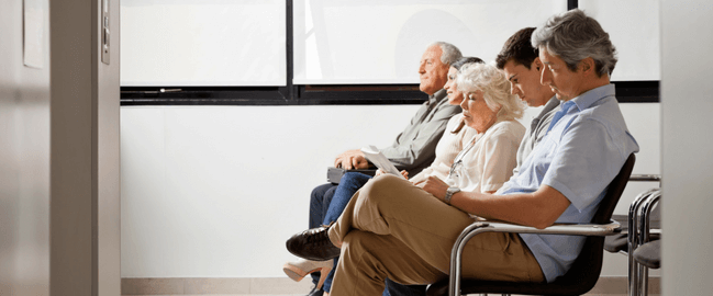 physician practice waiting room